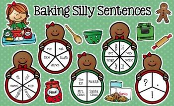 Christmas Writing: Silly Sentences