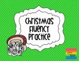 Christmas Silly Sentences {Fluency Practice}