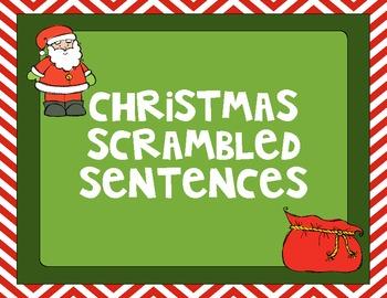 Christmas Silly Sentences