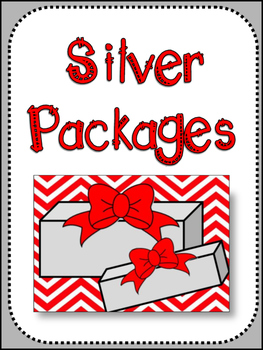 Christmas: Silver Packages by Cynthia Rylant