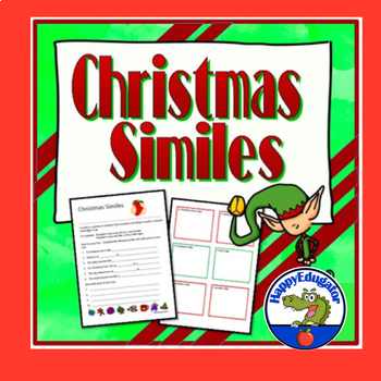 Christmas Similes Activity