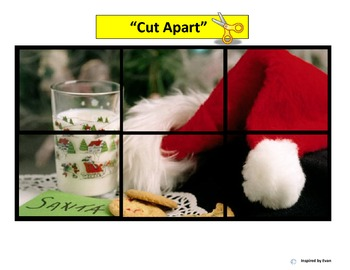 """Christmas"" Simple Puzzles for Autism"