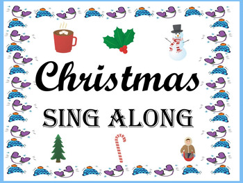 Christmas / Holiday Sing Along / Winter Songs for Chorus,