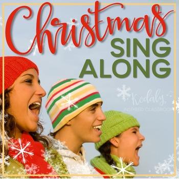 Christmas Sing Along Powerpoint (Editable)
