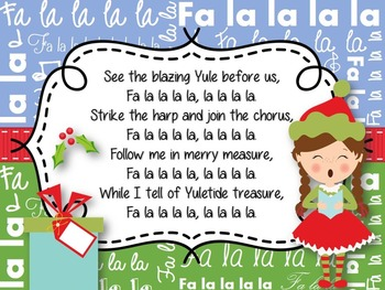 Christmas Sing Along Powerpoint (Editable)