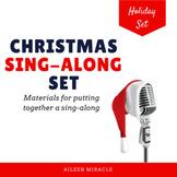 Christmas Carol Sing Along Set {Editable}