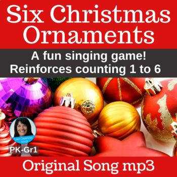 "Christmas Singing Game   ""Six Christmas Ornaments"" by Lisa Gillam   Song mp3"