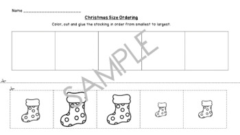 Christmas Size Ordering