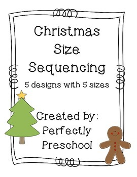 Christmas Size Sequencing {Dollar Deal}