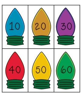 Christmas Skip Counting: Counting by 10s, 5s, and 2s