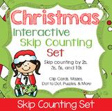 Christmas Skip Counting Interactive Set