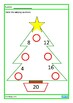 Christmas Times Tables Missing Numbers Worksheets, Autism,