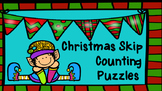 Christmas Skip Counting Puzzles-Differentiation