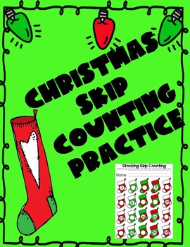 Christmas Skip Counting By 2s Stockings