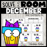 Christmas Skip Counting by 2