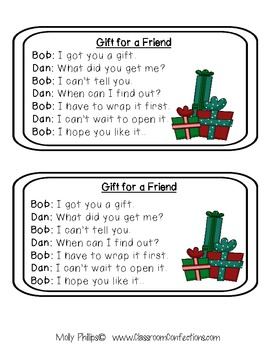 Christmas Reading Activity: Fluency Practice