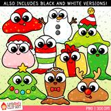 Christmas Slimes Christmas Clip Art
