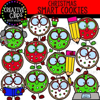 Christmas Smart Cookies: Christmas Clipart {Creative Clips Clipart}
