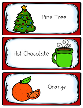 Christmas Smells! A Science Experiment
