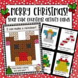 Christmas Snap Cube Activity Counting Mats + Snap Cube Mini Cards