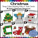 Christmas Snap Cubes Activity Mats & Task Cards