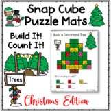 Christmas Snap Cubes Puzzles and Holiday Work Mats