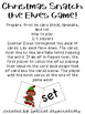 Christmas Snatch the Elves CVC Reading Game!
