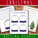 Christmas / Snow Globe Writing Bundle