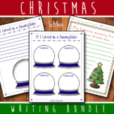 Christmas / Snow Globe Writing Bundle