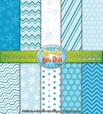 Christmas Snowflakes Digital Scrapbook {Zip-A-Dee-Doo-Dah Designs}