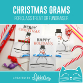Christmas Snowman Candy Grams   Winter Grams   Class Treat