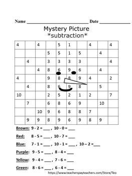 Free Winter Activities - Snowman - Mystery Pictures