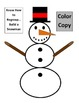 Christmas - Snowman Subtraction with Regrouping Game for Common Core