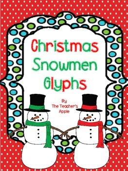 Christmas *Snowmen* Glyphs