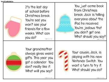 Christmas Social Skills
