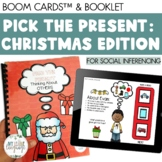 Christmas Social Inferencing & Perspective-Taking Boom Cards & Booklet