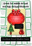 Christmas Social Skills Situation Cards and Problem Solvin