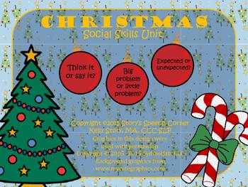 Christmas Social Skills Unit