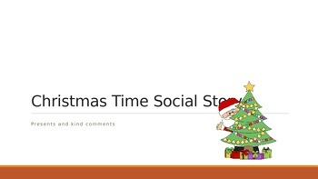 Christmas Social Story about Presents