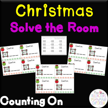 Christmas Solve the Room Counting on from a Given Number