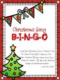 Christmas Activities:  Christmas Song Bingo