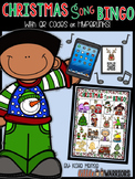 Christmas Song Bingo Game {with QR codes and Hyperlinks}