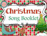 Christmas & Hanukkah Song Book {Editable} Caroling Book for Music Class
