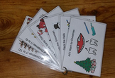 Christmas Song Cards Stocking Stuffer