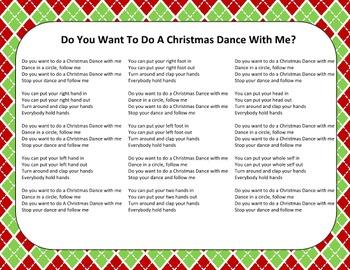 Christmas Song - Christmas Dance + Sing-Along Track (mp3)