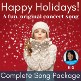 Christmas Concert Songs With Music Worksheets Tpt