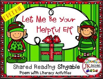Christmas Song FREEBIE: Let Me Be your Helpful Elf