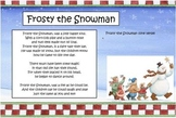 Christmas Song: Frosty the Snowman