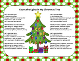 Christmas Song - Lights in My Christmas Tree + Sing-Along