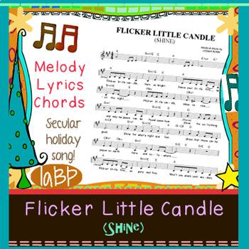 Christmas Song Sheet: lyrics, melody, chords